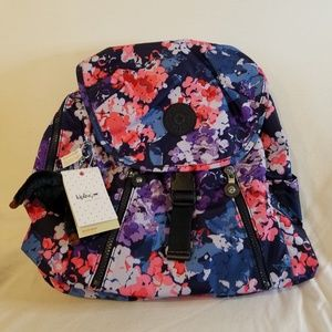 Kipling Zakaria Back Pack Blushing Blooms NWT